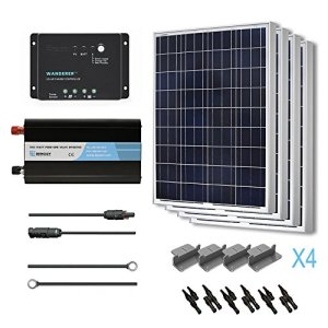 RENOGY® Solar Panel Complete Kit 400W Polycrystalline