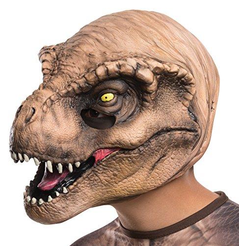 jurassic world masks - Rubie's Costume Jurassic World T-Rex Child Mask Costume