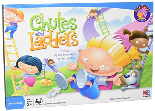 Hasbro Chutes and Ladders Board Game (Amazon Exclusive)