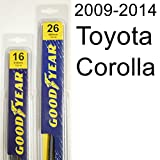 Toyota Corolla (2009-2014) Wiper Blade Kit - Set Includes 26' (Driver Side), 16' (Passenger Side) (2 Blades Total)