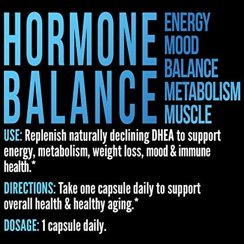 Havasu Nutrition DHEA 50mg Extra Strength Designed for Promoting Youthful Energy, Balance Hormone Levels & Supports Lean Muscle Mass, Non-GMO, Supplement for Men & Women, 60 Capsules 9