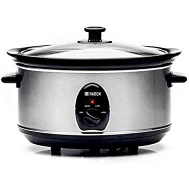 Sabichi Haden 3.5 Ltr Stainless Steel Slow Cooker