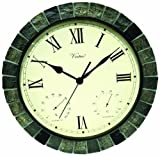 Poolmaster 52606 15' Clock/Thermometer/ Hygrometer - Faux Stone