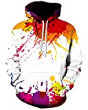 Product review for Chiclook Cool Chic Unisex Hipster Both Side Graffit Printed 3D Harajuku Hoodies Hip Hop Sweatshirt