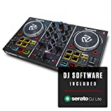 Numark Party Mix | Beginners DJ Controller for Serato DJ Intro With 2 Channels, Built In Audio...