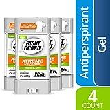 Right Guard Xtreme Defense Antiperspirant Deodorant Gel, Fresh Blast, 4 Ounce (4 Count)
