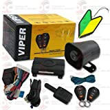 2013 Viper 1-way Car Alarm Security System with Keyless Entry with Squash Air Fresheners