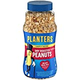 Planters Dry Roasted & Lightly Salted Peanuts (16 oz Canister)