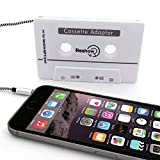 Reshow Car Audio aux Cassette Adapter (White)