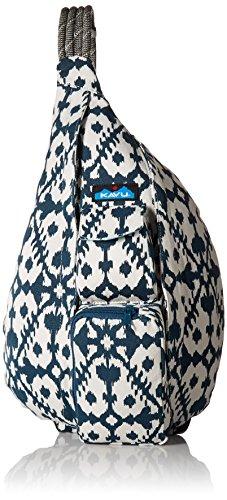 KAVU Rope Bag, Blue Blot, One Size