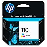 HP 110 Tri-color Ink Cartridge (CB304AN) for HP Photosmart A310 A432 A440 A444 A447 A512 A516 A536 A612 A616 A617 A626 A637 A646 A716 A717 A827