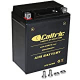CALTRIC AGM BATTERY compatible with POLARIS TRAIL BOSS 330 2003-2013