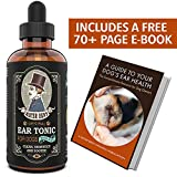 Mister Ben's Most Effective Dog Ear Treatment Cleanser Tonic w/Aloe - Ear Drops for dogs and Cleaner that provides Fast Relief from Dog Ear infections, itching, Odors, Bacteria, Mite s, Fungus & Yeast