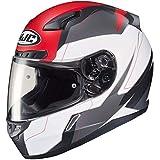 HJC CL-17 Helmet - Omni (Large) (White/RED/Black)