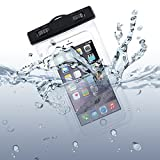 Waterproof Case Underwater Transparent Bag Pouch with Touch for Verizon Motorola DROID RAZR MAXX HD - Verizon Motorola Droid Turbo - Verizon Motorola Droid Turbo 2 - Verizon Motorola Droid Ultra