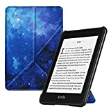Fintie Origami Case for All-New Kindle Paperwhite (10th Gen, 2018 Release) - Slim Fit Stand Cover Support Hands Free Reading with Auto Sleep Wake for Amazon Kindle Paperwhite E-Reader, Starry Sky