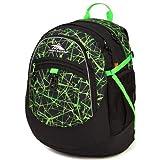 High Sierra Fatboy Backpack, Digital Web/Black/Lime