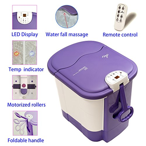 LLETT All in one deep Foot & Leg spa Bath Massager
