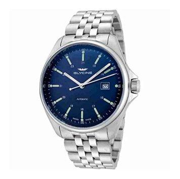 Glycine Combat 6 Classic Automatic Blue Dial Mens Watch GL0102