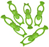 Fun Express Vinyl Stretchable Flying Frogs - 12 Pieces