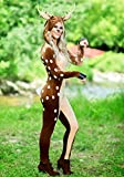 Fun Costumes Women's Fawn Deer Woods Costume Medium Brown
