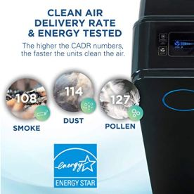 Germ-Guardian-True-HEPA-Filter-Air-Purifier-with-UV-Light-Sanitizer-Eliminates-Germs-Filters-Allergies-Pollen-Smoke-Dust-Pet-Dander-Mold-Odors-Quiet-28in-4-in-1-Air-Purifier-for-Home-AC5350B