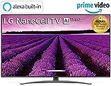 LG 139 cm (55 inches) 4K UHD Smart Nano-Cell TV 55SM8100PTA (Ceramic BK + Dark Steel Silver) (2019 Model)