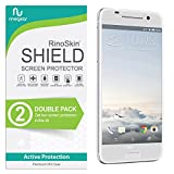 (2-Pack) RinoGear HTC One A9 Screen Protector Case Friendly Screen Protector for HTC One A9 Accessory Full Coverage Clear Film