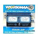 SWR / Power METER for CB Radio 100 Watts - Dual Meters - Workman SWR3P
