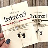 Will you be my godparents gift set of 2. Will you be my Godmother or godmother proposal, Godmother and Godfather gifts, Godparent proposal