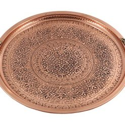 Traditional Copper Serving Tray