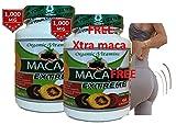 Maca Capsules Original Pill Shape Buttocks Bigger Butt Booty Shaper Super MACAXL Get a Bigger Booty Plus Free 60 Capsules MACA Extreme 1000 MGS