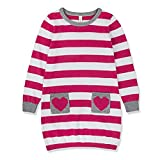 Product review for Benito & Benita Girls' Pullover Sweater Striped Cotton Dress Sweater With Pockets 2-7Y