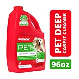 Rug Doctor Pet Deep Cleaner, Carpet Cleaning Solution for Rug Doctor Rentals, Pro-Enzymic Formula Professionally Cleans Pet and Organic Stains and Permanently Removes Odors, 96 oz.