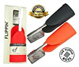 Flippin' Boss - The Choice of Serious Grillers, All-In-One Professional Grade Stainless Steel Spatula, Tong & Heat Resistant Silicone Glove Combo Tool, the Ultimate Grilling and BBQ Accessory