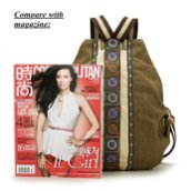 Women-Canvas-Backpack-Daypack-Casual-Shoulder-Bag-Vintage-Heavy-duty-Anti-theft-Travel-Backpack