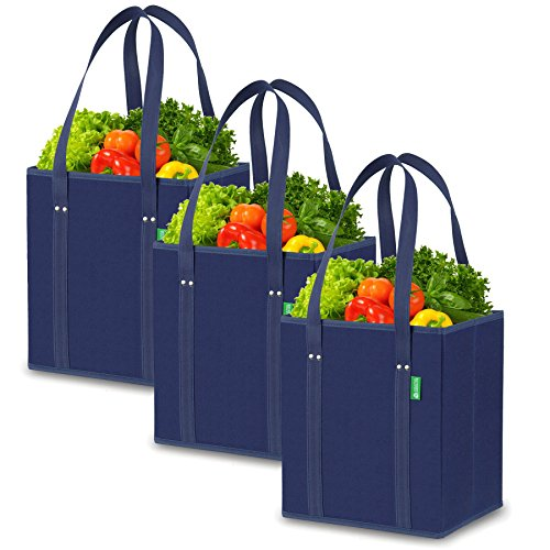 Reusable Grocery Shopping Box Bags (3 Pack)...