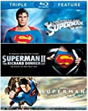 Superman: The Movie / Superman II: The Richard Donner Cut / Superman Returns [Blu-ray] by Warner Home Video
