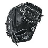 Louisville Slugger Omaha 32' Catcher's Mitt, Black/Gray
