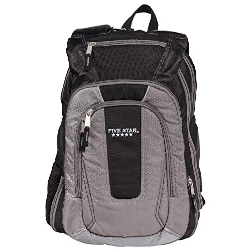Five Star Expandable Backpack, School Backpack, Gray (73415)
