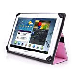 Supersonic SC-1010JB 10 Inch Tablet Case - UniGrip 10 Edition Folio Case - PINK - By Cush Cases