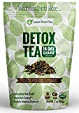 Organic Green Detox Tea - 14 Day Weight Loss Cleanse (28 servings) - Liver, Skin & Digestion Detox - Teatox Slimming Skinny Tea - Green Root Tea