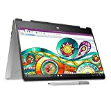 HP Pavilion x360 14-dh0101TU 2019 14-inch Touchscreen Laptop (8th Gen Core i3-8145U/4GB/256GB SSD/Windows 10 Home/Integrated Graphics), Natural Silver