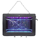 Bug Zapper Electronic Insect Killer with UV Light Lamp High Voltage Mosquito Killer for Fly Zapper Moth, Wasp, Beetle & Other Pests Killer in Indoor