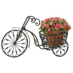 Bicycle Iron Plant Stand