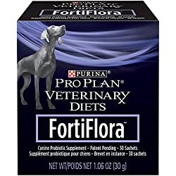 Purina Fortiflora Canine Nutritional Supplement Box, 30gm/30 Count
