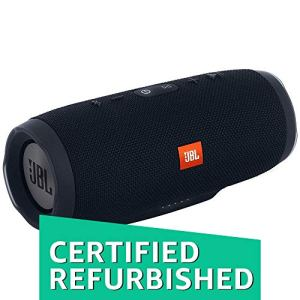 (Renewed) JBL Charge 3 Powerful Portable Speaker with Built-in Powerbank (Black)
