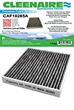 Cleenaire CAF10285A New High Airflow Version Of The Most Advanced Protection Against Dust, Smog, Gases, Odors and Allergens, Cabin Air Filter For Lexus Toyota Scion Subaru