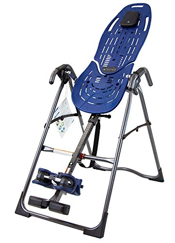 Teeter E6-1001 FDA-Cleared Inversion Table for back pain relief, 3rd-Party Safety Certified, Precision Engineering