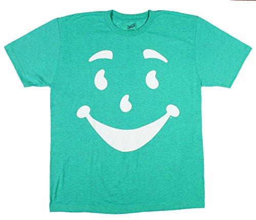 Kool-Aid Man Green Licensed Graphic T-Shirt - Small